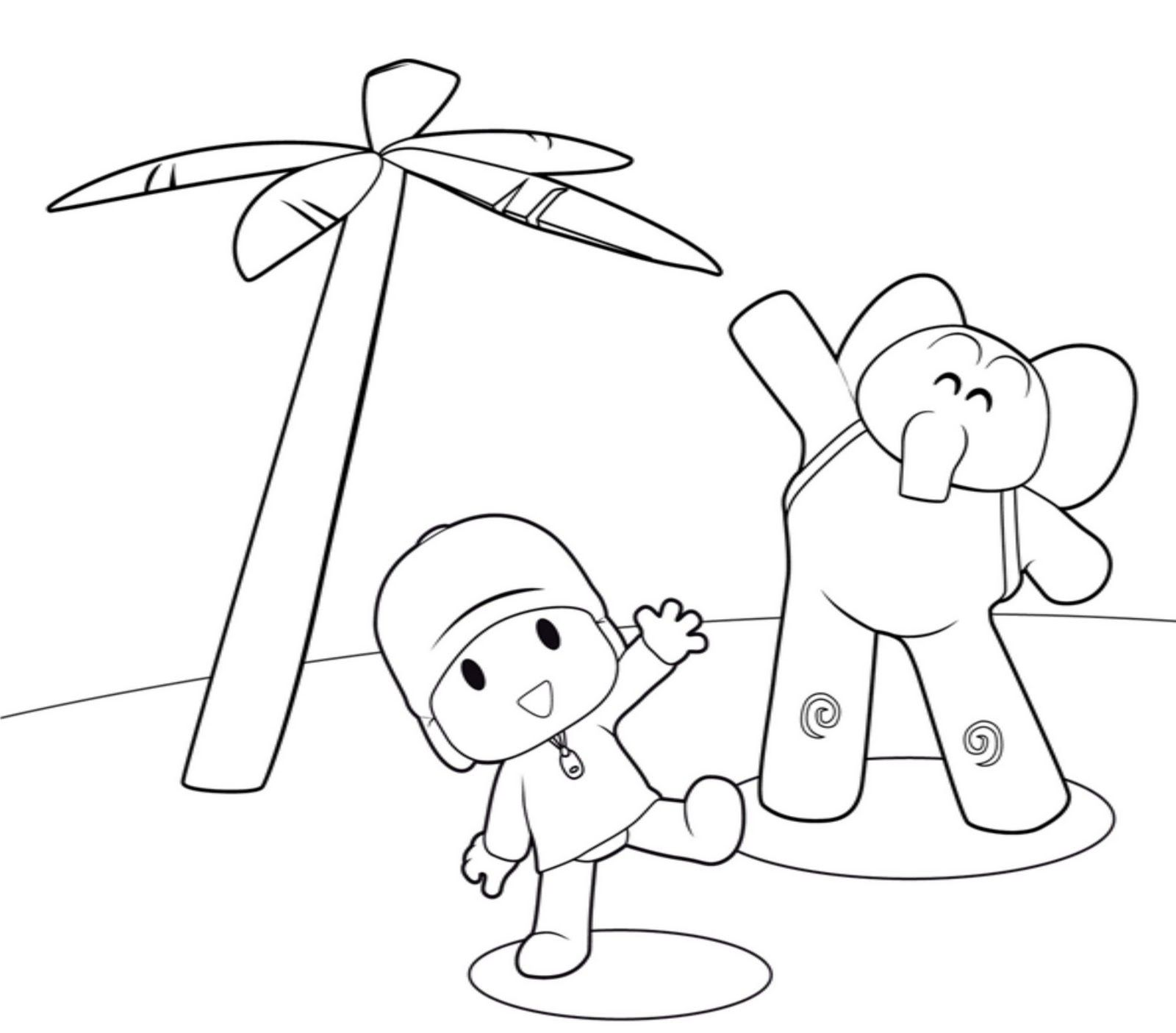 Free Printable Pocoyo Coloring Pages For Kids Coloring