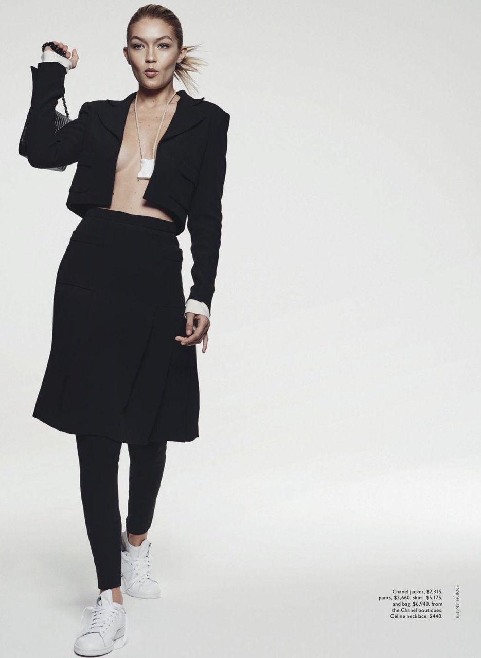 Models - #top #model #fashion #style #GigiHadid #Vogue #Australia #June #2015