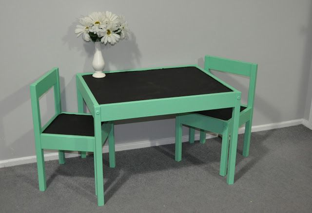 Newly Antique: Ikea Hack: Kids Table and Chairs