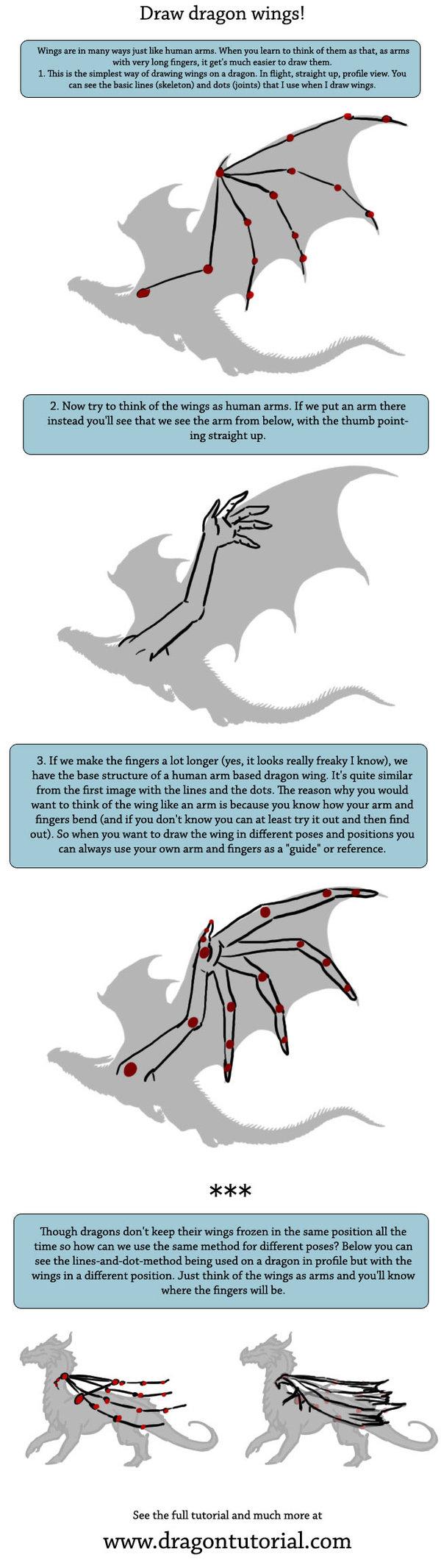 Dragon+wings+tutorial+by+alecan.deviantart.com+on+@DeviantArt | Here ...