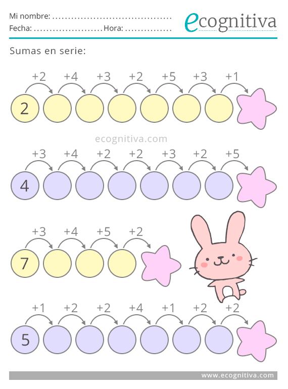 Estimulación Cognitiva Para Niños Ejercicios Para Imprmir Pdf Gratis Matematicas Primero De Primaria Juegos Matematicos Para Niños Matemáticas Para Niños