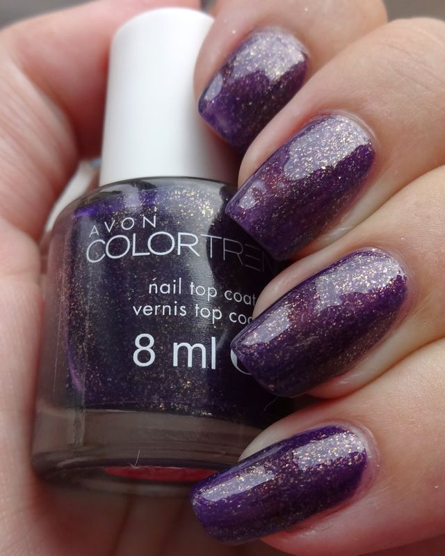 Avon Color Trend Nail Polish - Amethyst Flash (Wendy\'s Delights ...
