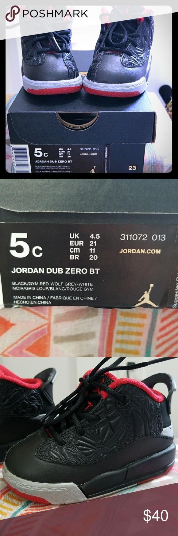 c58e7f9d01efff Kids Jordan Dub Zero