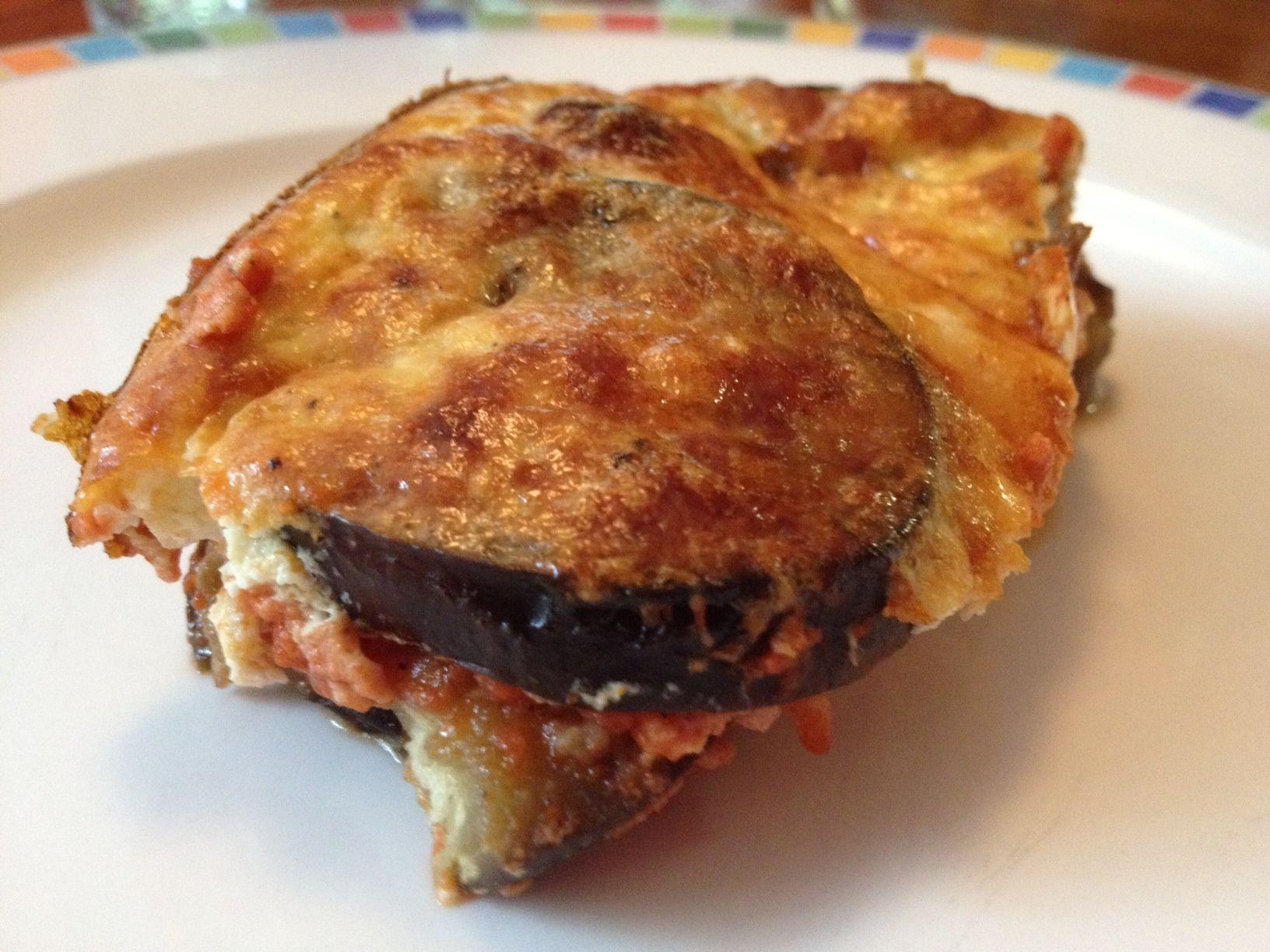 Eggplant gratin receta recetas deliciosas y recetas forumfinder Images