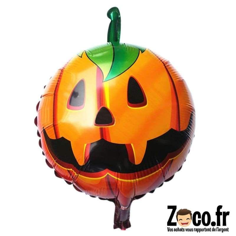 Achat Citrouille Halloween.Ballon Tete De Citrouille Decoration Fete Halloween Citrouille Halloween