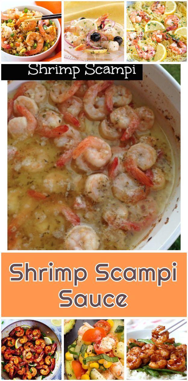 Garnelen-Scampi-Sauce. Dies ist ein super einfaches Shrimp Scampi Sauce Rezept, das ...   - Gluten free Recipes -