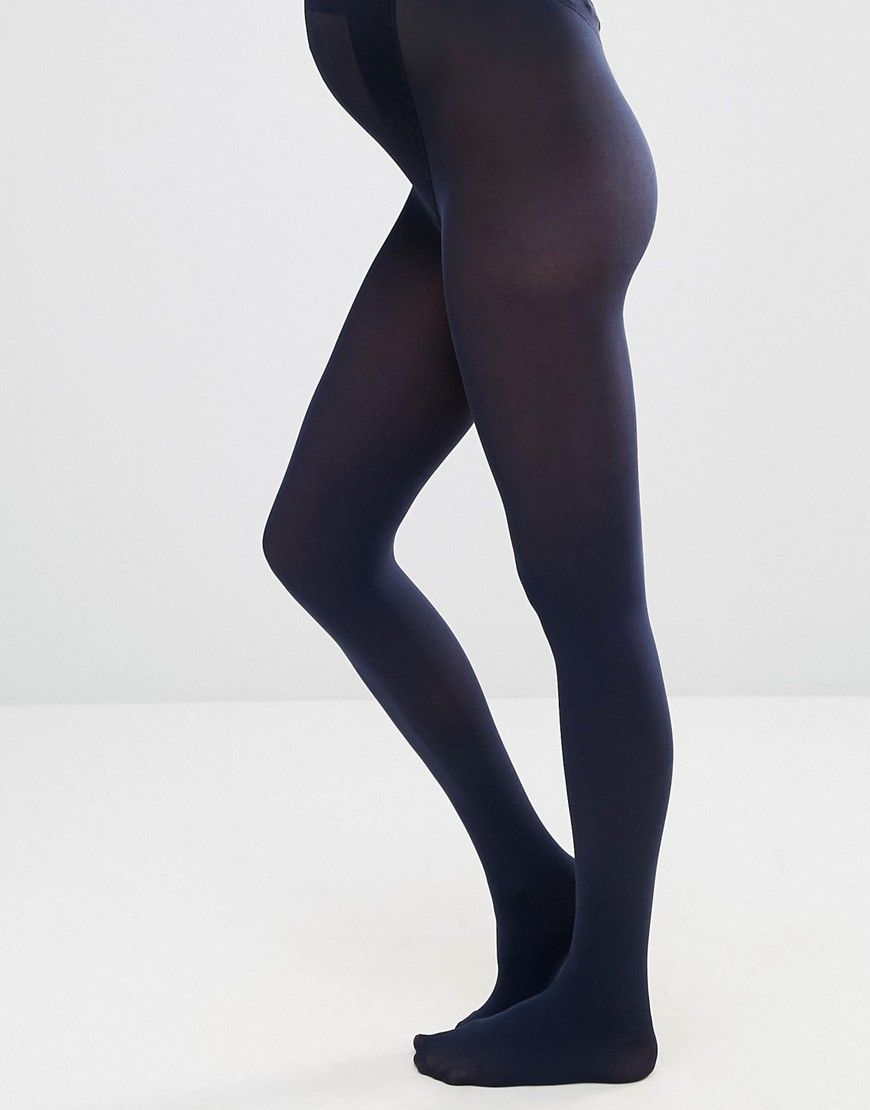 Amazing Price Sale Online Sale ASOS DESIGN Maternity new improved fit 80 denier tights in navy - Navy Asos Maternity Cheap Footaction ys2IXXGF9Q