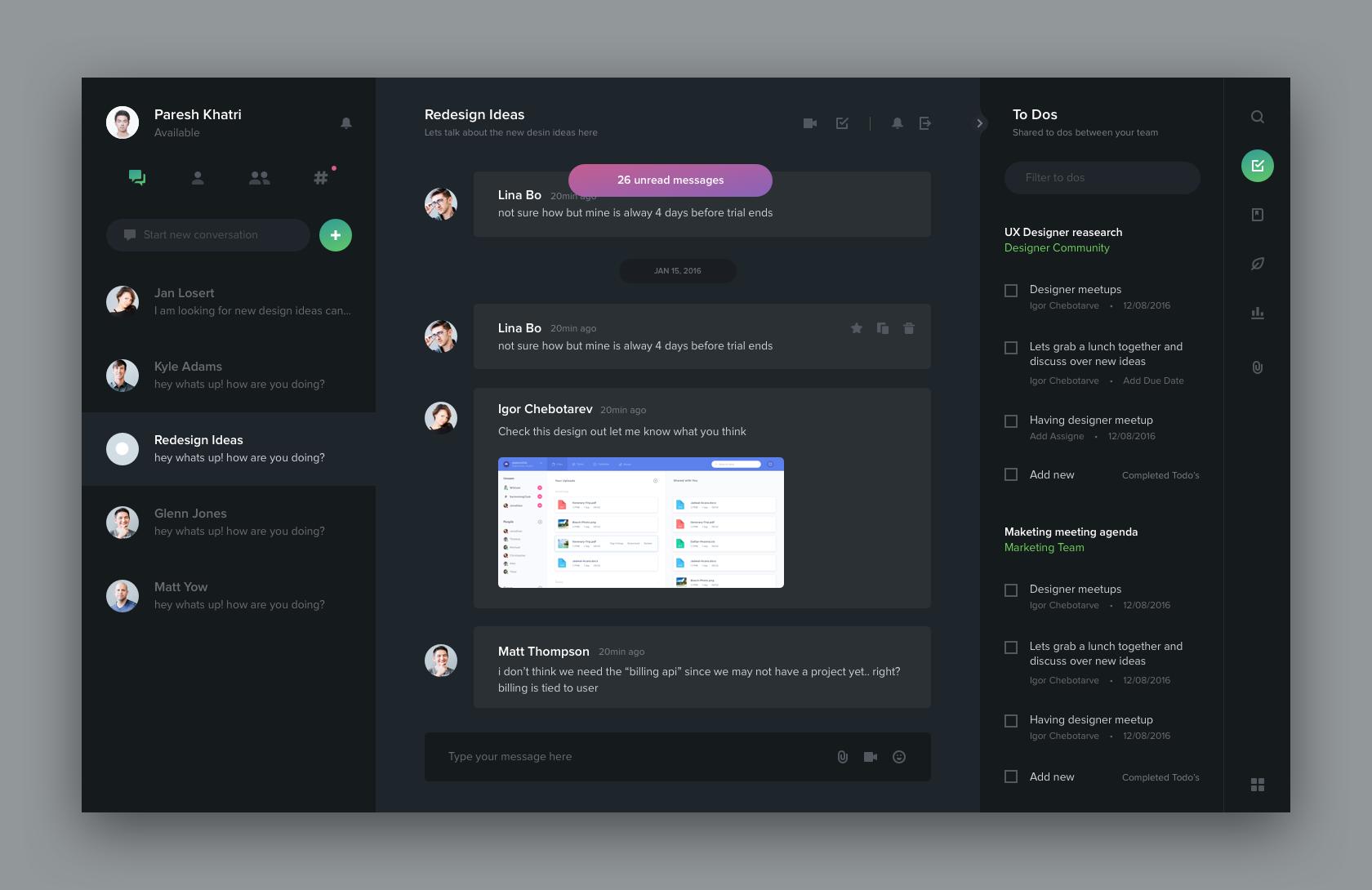 Black Big Interactive Design Dashboard Design App Design