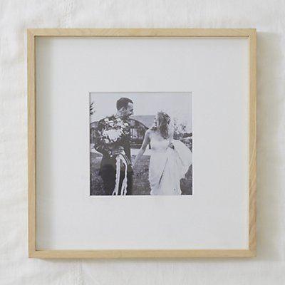 "Fine Ash Wood Recessed Photo Frame 8x8"" | photo | Pinterest | Photos"
