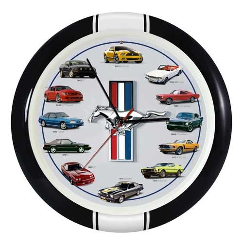 So What S On Your Wall Http Www Mustangsunlimited Com Search Sorted Asp Keywords Clk59 Clock Sound Wall Wall Clock