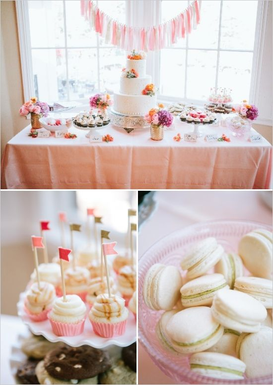 Popping Pink and Gold Wedding