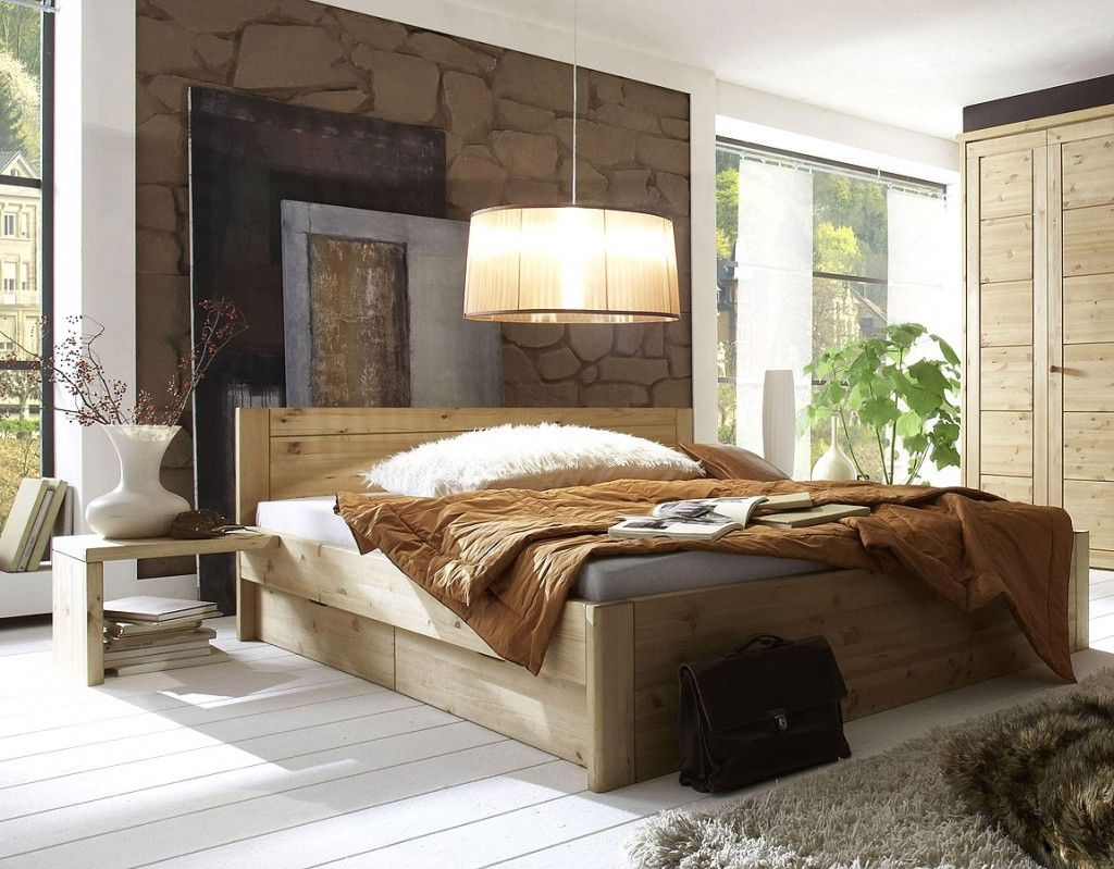 Massivholz Schlafzimmer ~ Massivholz schubladenbett holzbett bett eiche massiv geölt