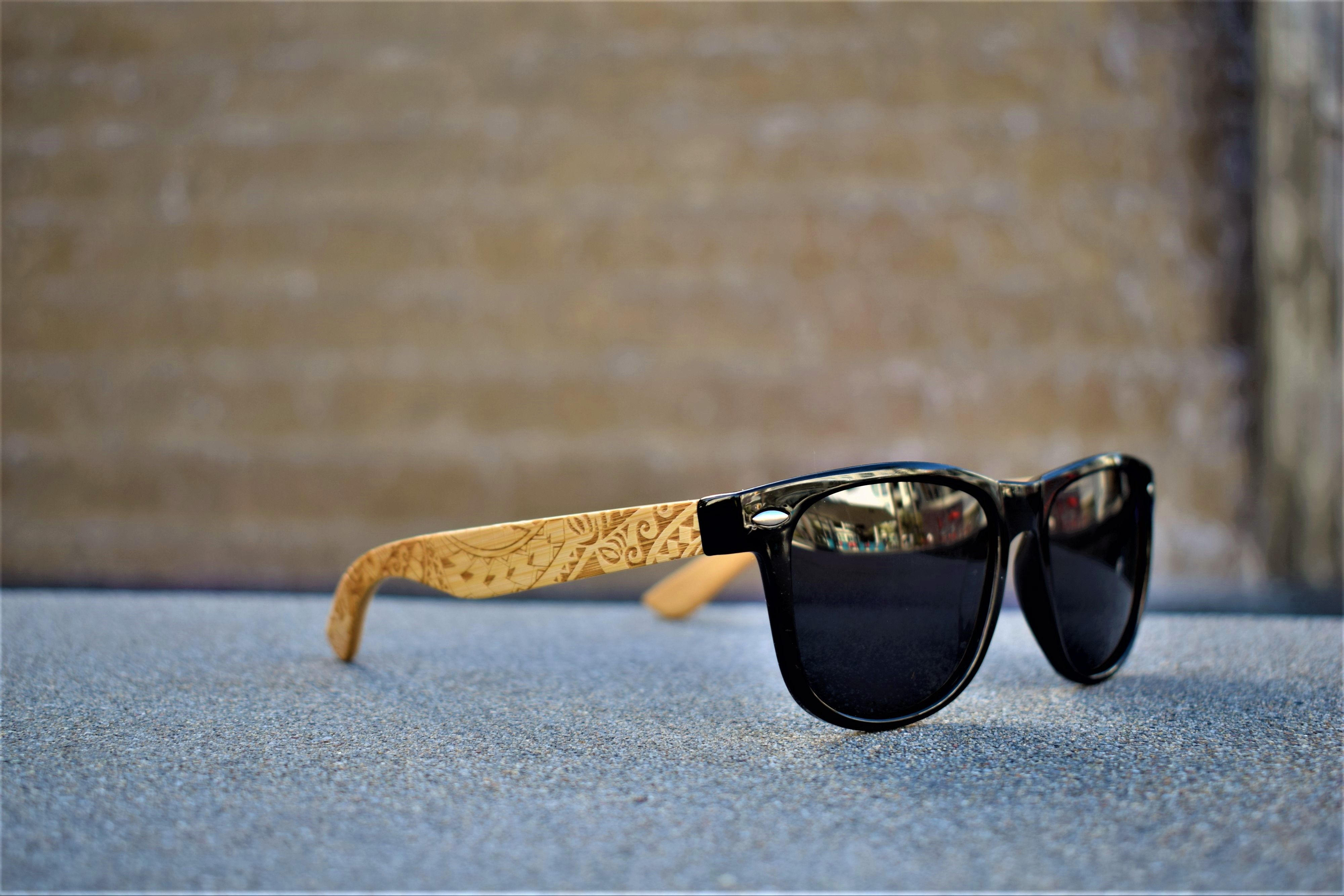 6673748bcad4 Polynesian style polarized bamboo sunglasses for men and women. Find this  Pin and more on Koa Wood Knock ...