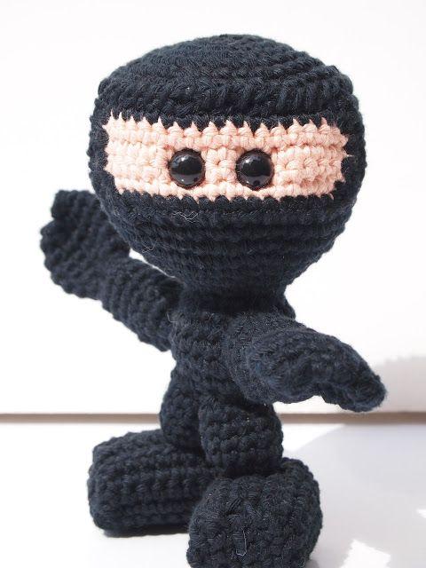 Tigerfrogg: Ninja free pattern | Häkeln - Sonstiges | Pinterest ...