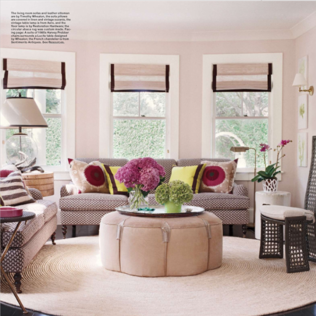 Eclectic Cottage Living Room: Eat. Sleep. Breathe. Design: February 2012