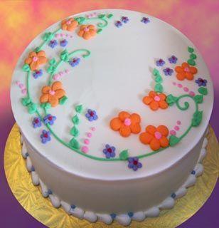 Fondant Birthday Cakes Bay Area