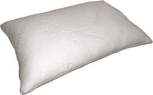 Bamboo Pillow by Distrihogar | The Best Bamboo Pillow | Hypoallergenic | Antibacterial |…