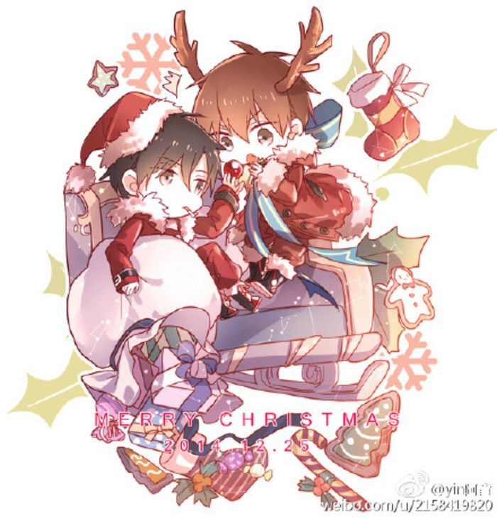 Christmas Anime Boys Anime Christmas Anime Christmas Pictures