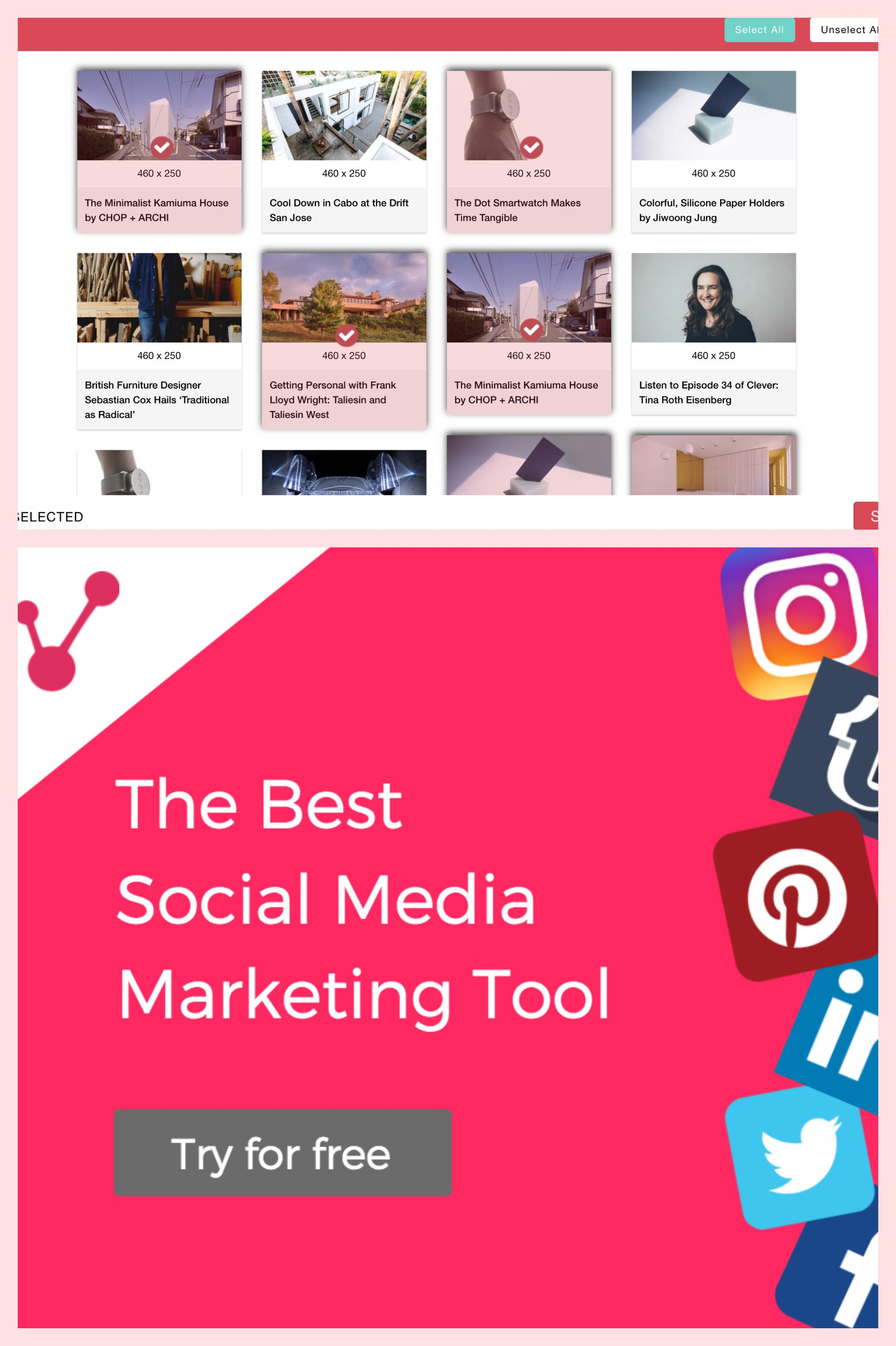 Best Social Media Tools Pinterest Scheduling Tool Instagram