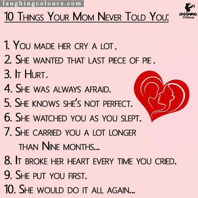 10 things your never told you 1 you made a lot