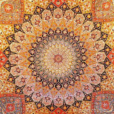 Persian Carpet Design By Acedubai Via Dreamstime