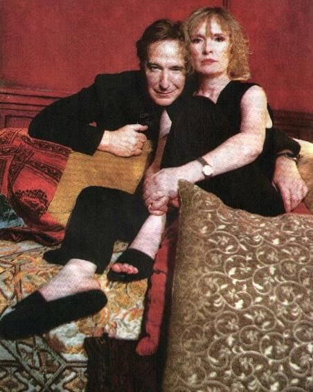 Alan Rickman And Lindsay Duncan In The Broadway Play Private