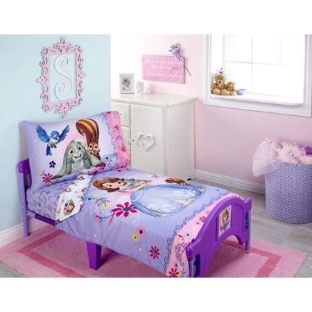 Adorable Sofia Friends are Magic 4-Piece Toddler Bedding Set ...