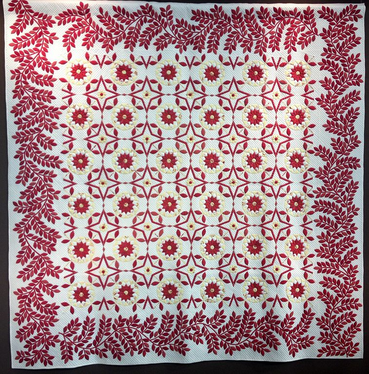 I Love Red! by Yoshiko Fujita - Second Prize, 2013 Tokyo International Great Quilt Festival.  Photo by SewBlossomHeart via Flickr