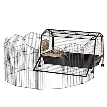 Oxbow Rabbit Habitat With Play Yard Max Rabbit Habitat
