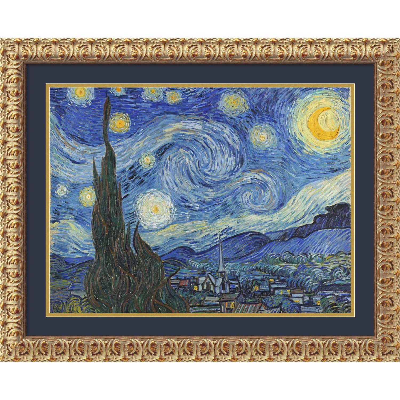 Vincent van Gogh \'The Starry Night June 1889 | Language | Pinterest