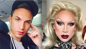 Drag Queen Transformation Before And After Who Am I Pinterest