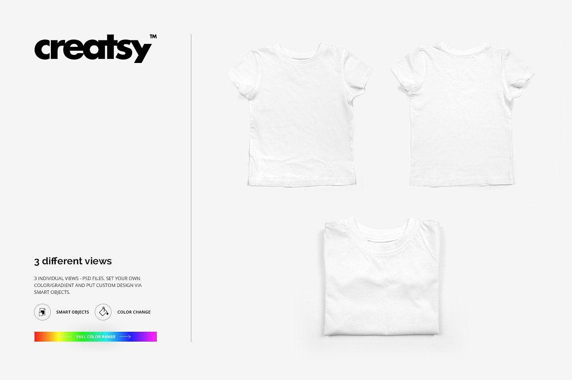 Download Kids T Shirt Mockup Set Tshirt Mockup Shirt Mockup Kids Tshirts