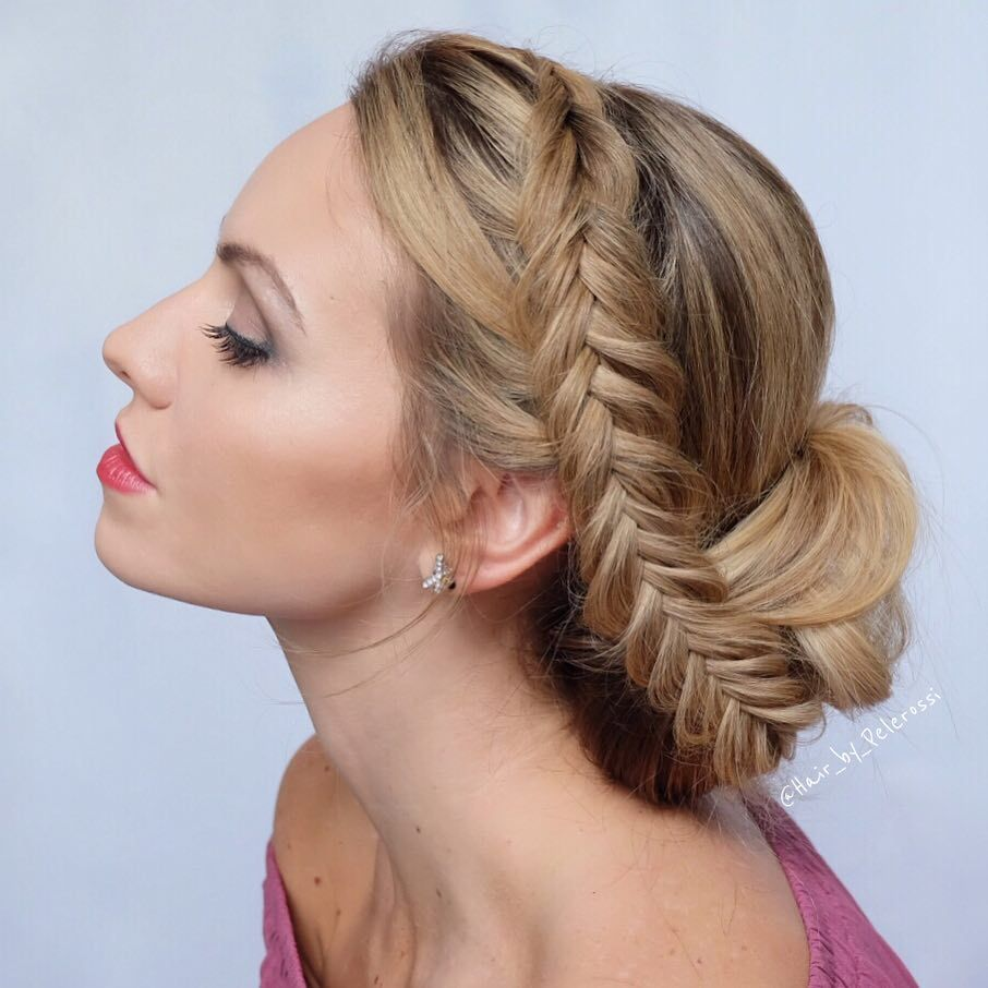 11 beautiful milkmaid braid updo hairstyles that never go
