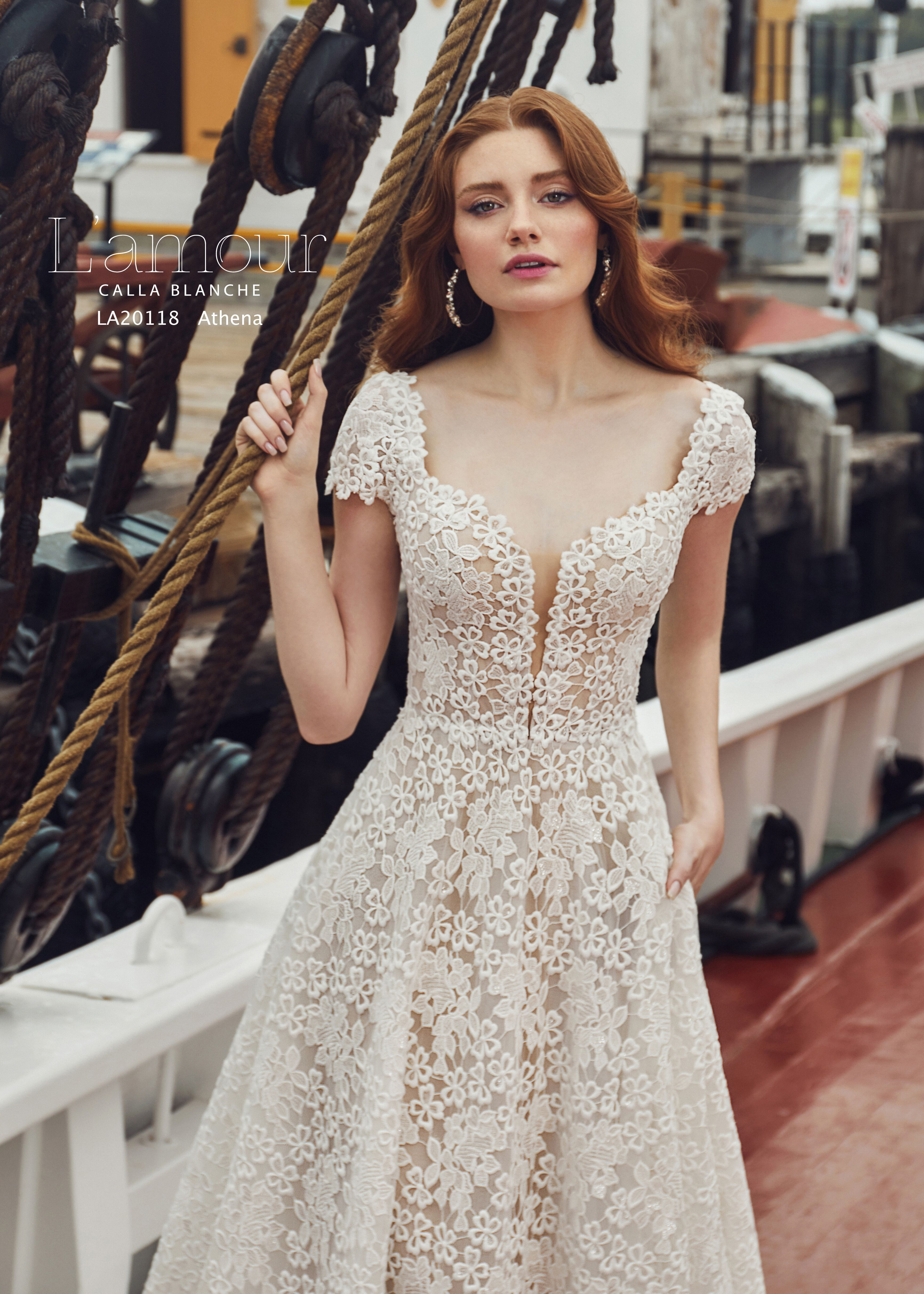 Athena La20118 Lamour Callablanche Utah Wedding Dress Wedding Dress Store Wedding Dresses