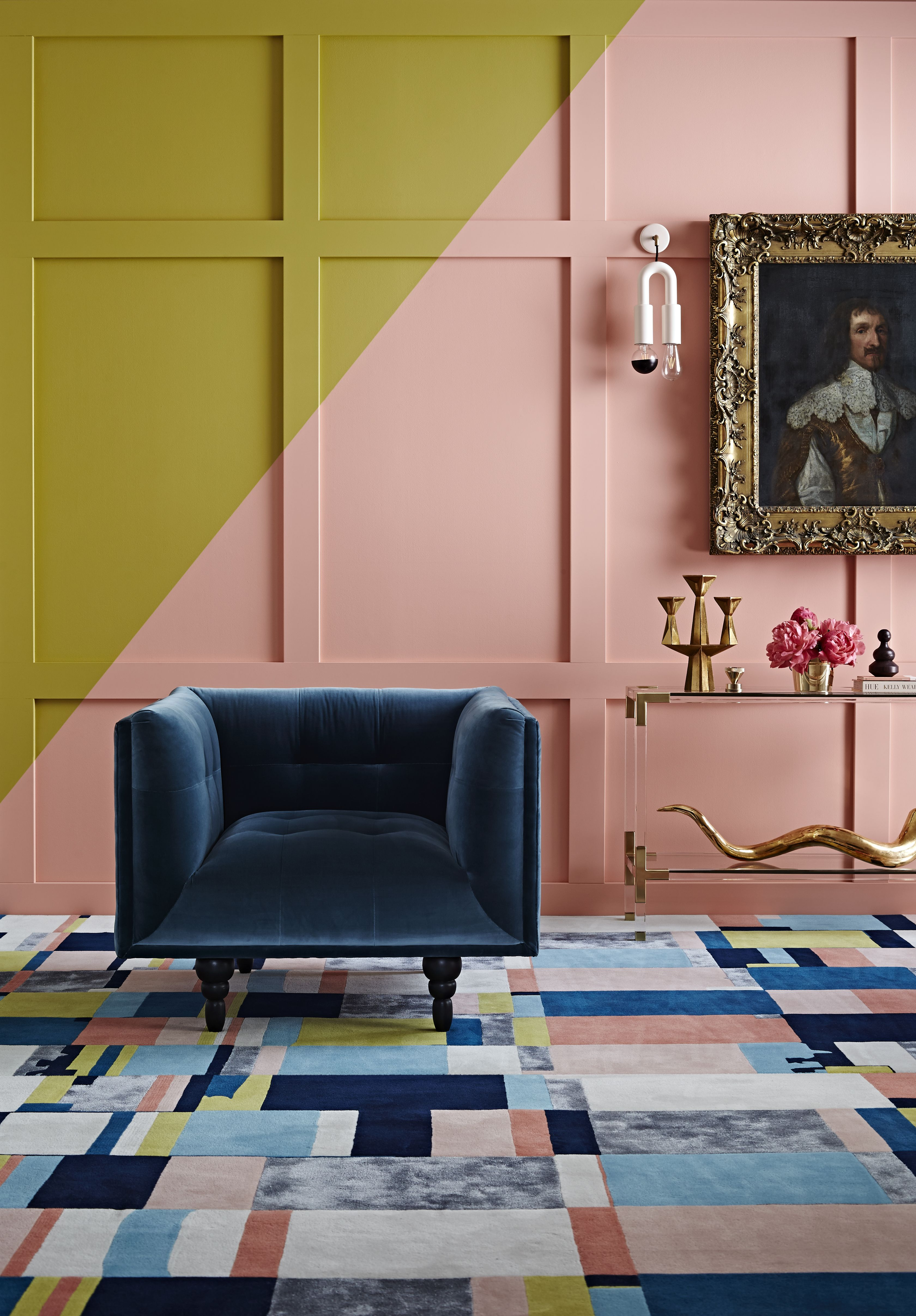 Colour combination on walls, floors and furniture. | New Orleans ...