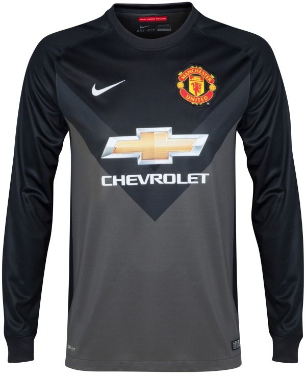 36807b7938a Manchester United Goalkeeper Kit 14/15 Nike | Sport Shirts ...