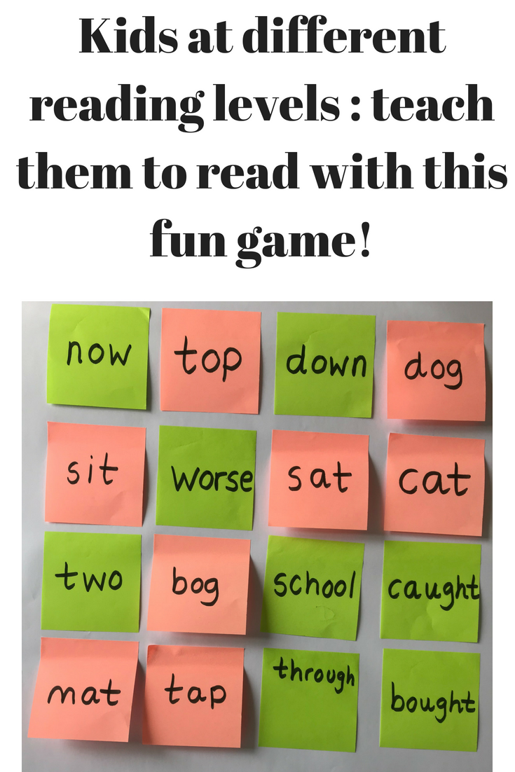 Practice Two Different Types Of Words Sight Words And Three Letter
