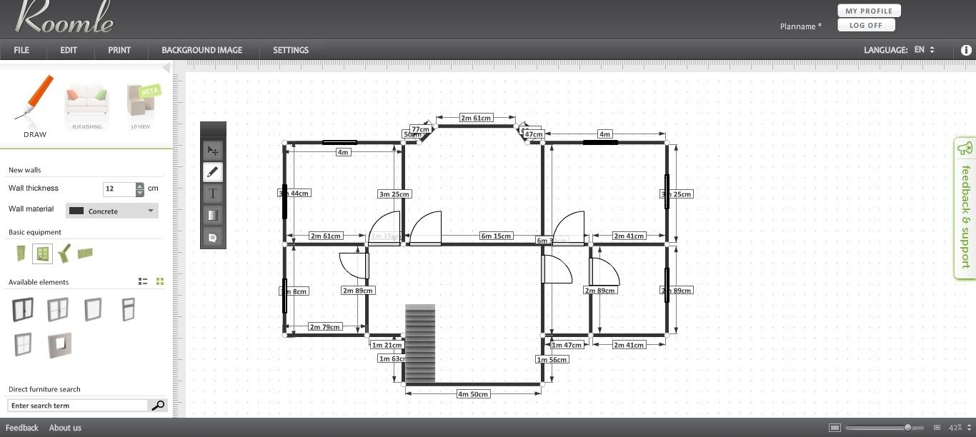 Free Floor Plan Software Roomle Review Reviews Best Mac Free Floor Plan Software Roomle Review On Floor Plan Maker Free App House Floor Plans Modern House Floor Plans Home Plan Software