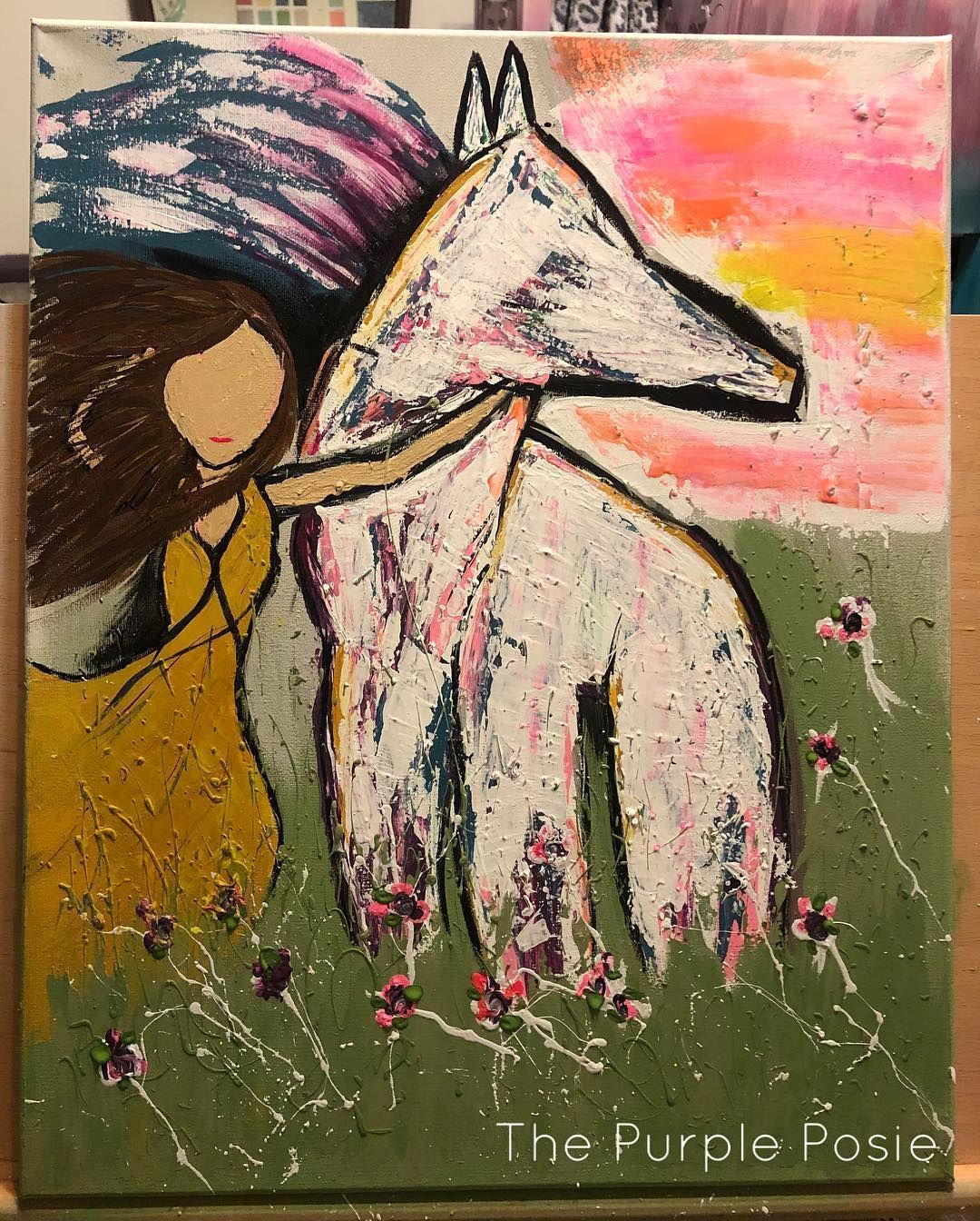 Not too bad for a first timer 🤷🏻♀️💜 #artist #loveart #texasartist #oneofakind #thepurpleposie #handpainted  #createallday #creativeentreprenuer #colormovement #momprenuer #bigspringtexas #westtexasartist