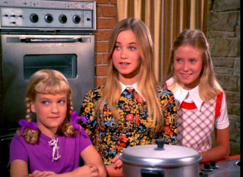 Cindy, Marcia & Jan - The Brady Bunch