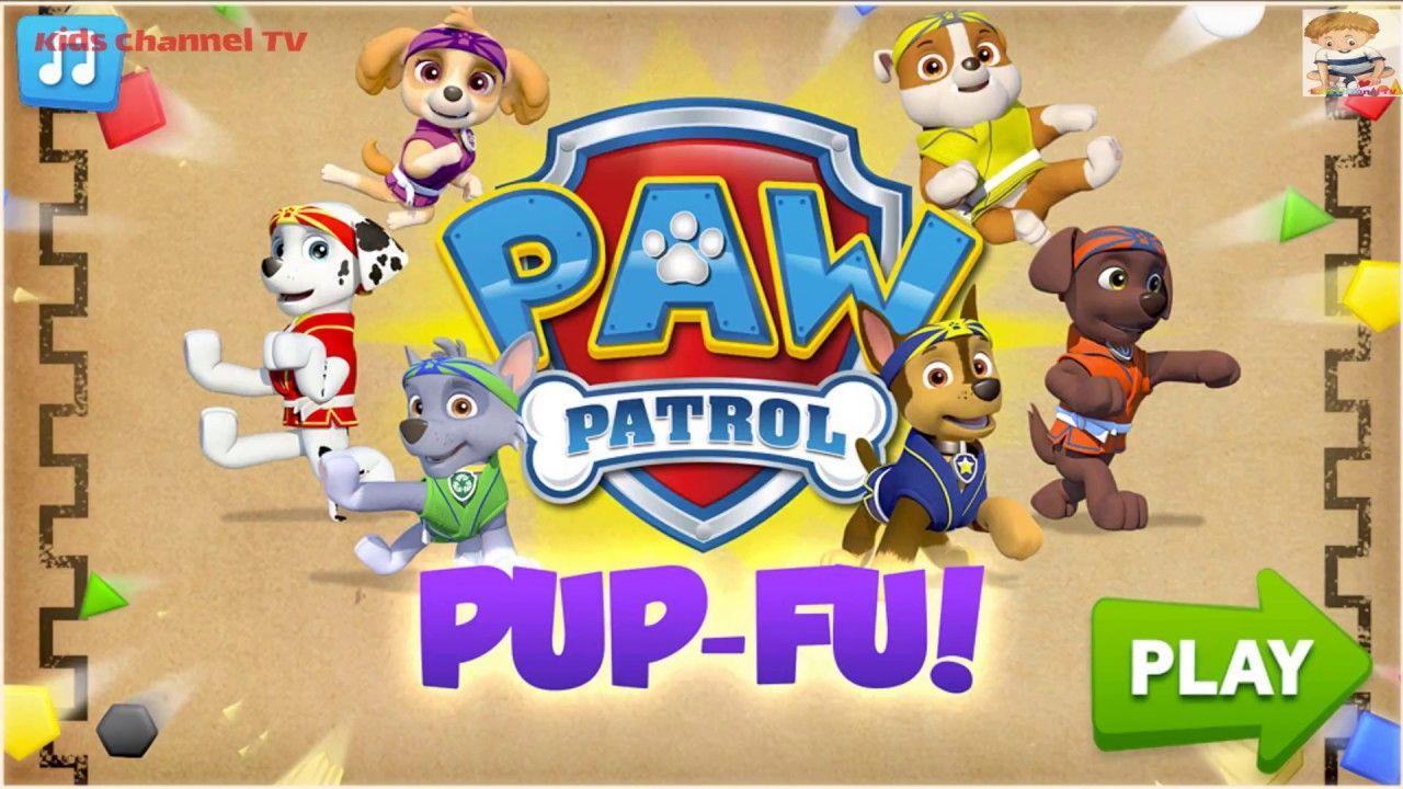Paw Patrol - Pup Fu (Patrulha Canina - Games Kids Paw Patrol