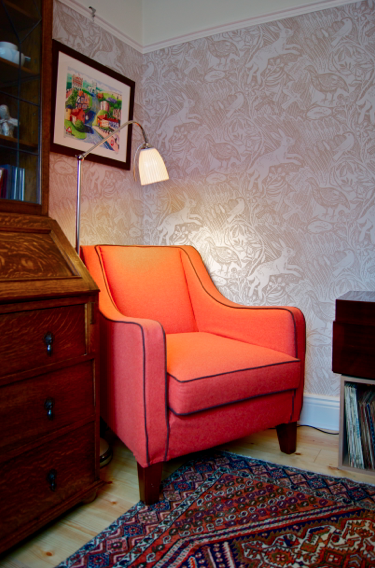 Mark Hearld fabrics and wallpaper - St. Jude'-s Fabrics &- Wallpapers