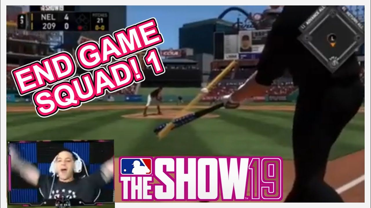 End Game Squad Mlb The Show 19 Mlb The Show Mlb Games