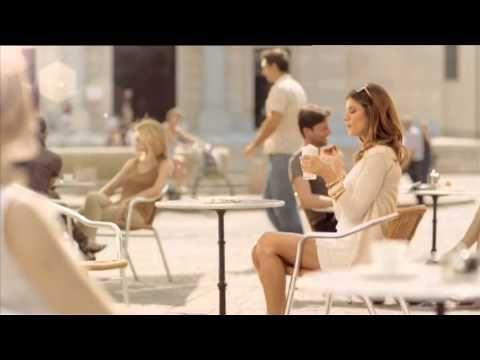 Giotto Werbung Caffè solo con Giotto mit Elisabetta Canalis - YouTube