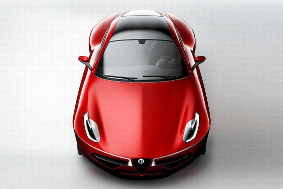 2012 Alfa Romeo Disco Volante Concept Image