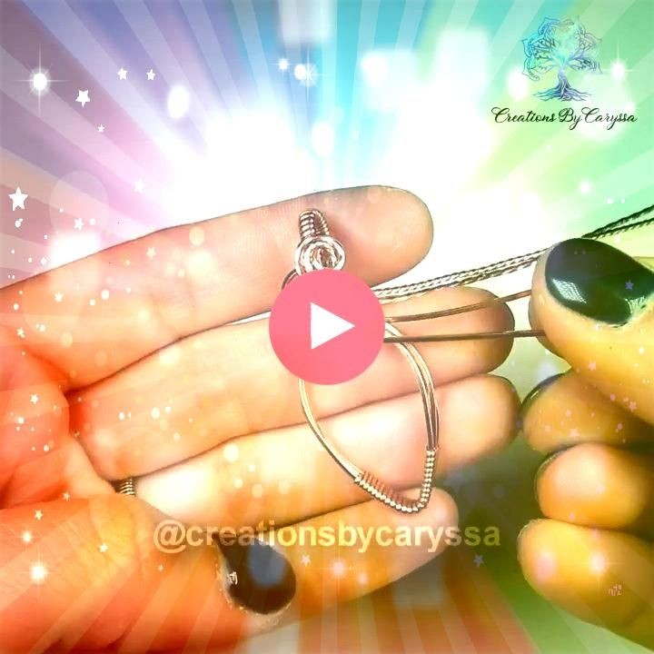 wire wrapped this pendant Hello Here is another video showing how I made this wire wrapped pendant I hope you enjoy You can find my available pieces on my Etsy Shop feel...