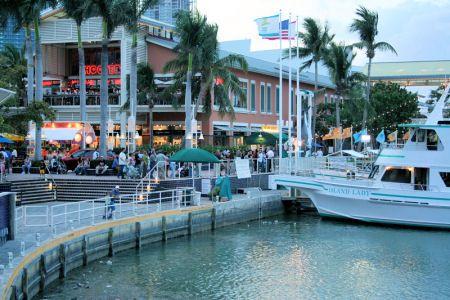 Bayside Miami Florida Waterfront