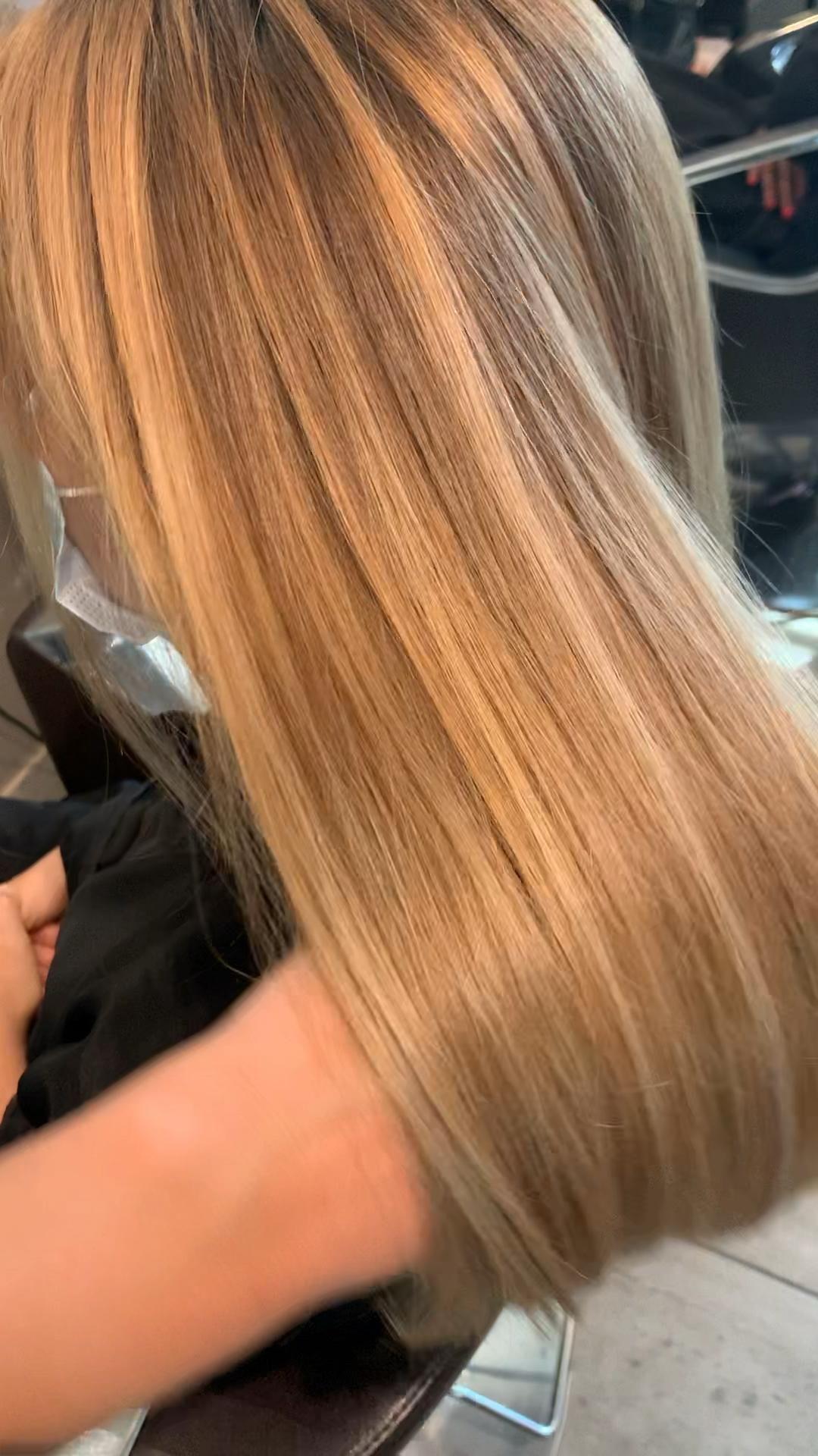 Balayage Golden Blonde 🌻💫