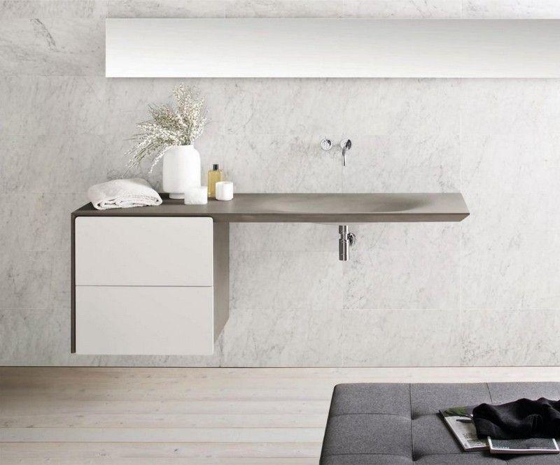 Badezimmermöbel unterschrank ~ Waschtisch design modern unterschrank ideen g