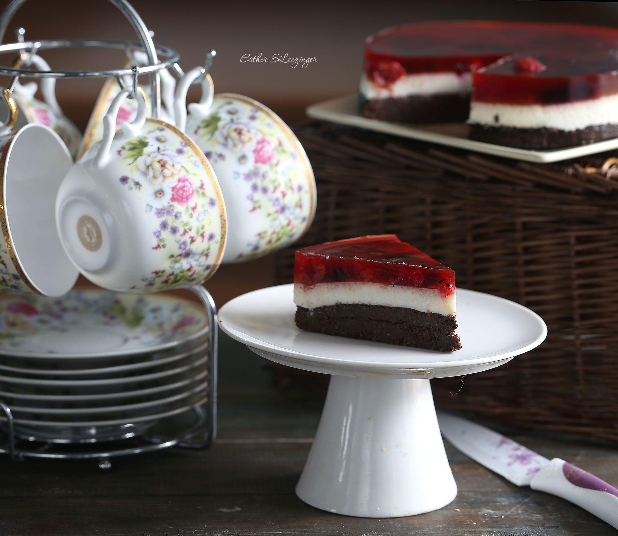 Диетический черемуховый торт | Рецепты правильного питания - Эстер Слезингер